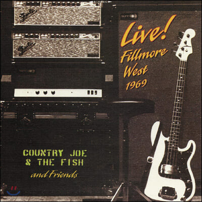 Country Joe & The Fish and Friends - Live! Fillmore West 1969 (50th Anniversary) [옐로우 컬러 2LP]
