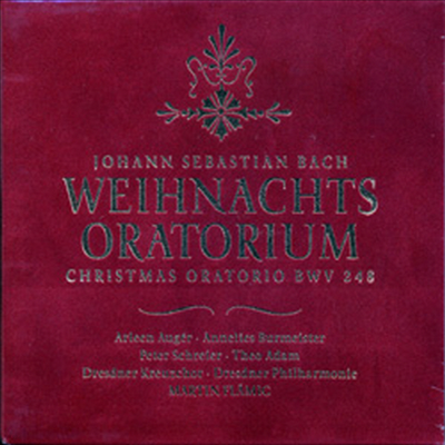 바흐 : 크리스마스 오라토리오 전곡 (Bach : Christmas Oratorio BWV248) (3CD) - Arleen Auger