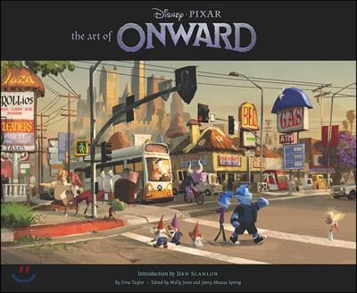 The Art of Onward 디즈니 온워드 공식 컨셉 아트북
