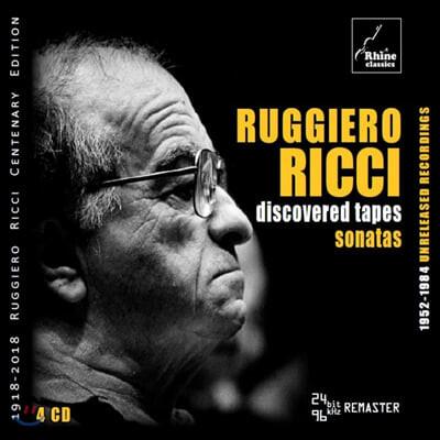 루지에로 리치 미공개 녹음: 바이올린 소나타 모음집 (Ruggiero Ricci - Discovered Tapes: Sonatas)