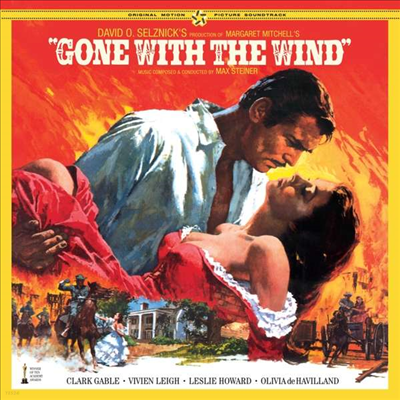 Max Steiner - Gone With The Wind (바람과 함께 사라지다) (180g LP)(Soundtrack)