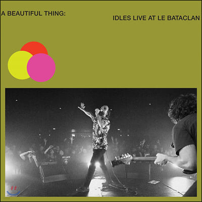 Idles (아이들스) - A Beautiful Thing: IDLES Live at Le Bataclan [네온 그린 컬러 2LP]