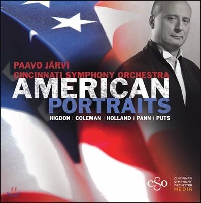 Paavo Jarvi 미국의 초상 - 2001~2007년 미국 작곡가들의 작품 (American Portraits)