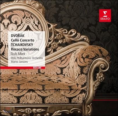 Mariss Jansons / Truls Mork 드보르작: 첼로 협주곡 / 차이코프스키: 로코코 변주곡 - 뫼르크, 얀손스