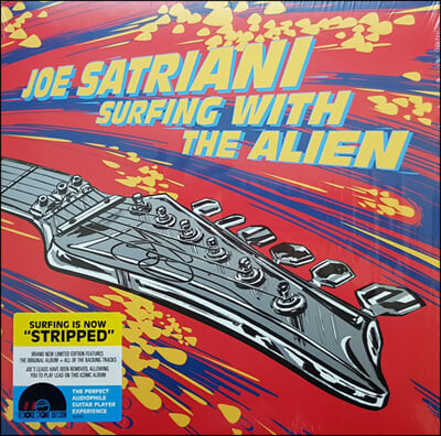 Joe Satriani (조 세트리아니) - Surfing With The Alien (Deluxe Version) [레드 & 옐로우 컬러 2LP]