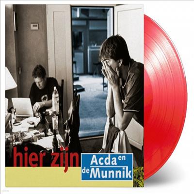 Acda & De Munnik - Hier Zijn (Ltd. Ed)(180G)(Red Vinyl)(LP)