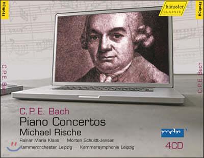 Michael Rische 칼 필립 엠마누엘 바흐: 건반 협주곡 (C.P.E. Bach: Piano Concertos)