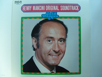 LP(수입) 헨리 맨시니 Henry Mancini And His Orchestra: Henry Mancini Original Soundtrack - Gold Deluxe(GF 2LP)