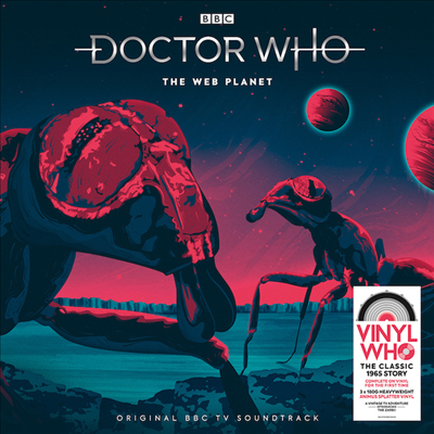 Soundtrack - Doctor Who ? The Web Planet (닥터 후 - 더 웹 플라넷)(O.S.T.)(180G)(Colored 3LP Box Set)