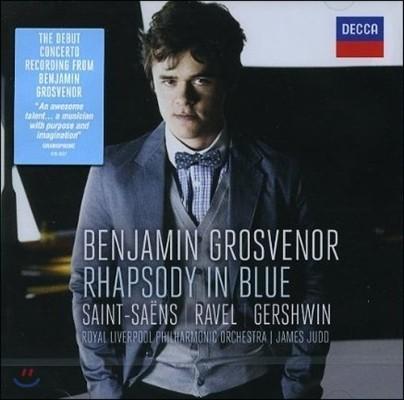Benjamin Grosvenor 거슈윈: 랩소디 인 블루 / 라벨, 생상스; 피아노 협주곡 Rhapsody in Blue) 벤자민 그로스브너