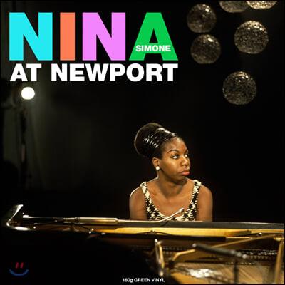 Nina Simone (니나 시몬) - At Newport [그린 컬러 LP]