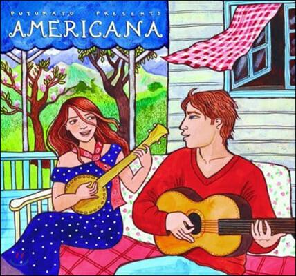 푸투마요 레이블 아메리칸 인디언 정통 포크송 모음집 (Putumayo presents Americana)