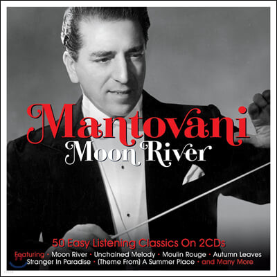 Annunzio Paolo Mantovani 만토바니 오케스트라 인기곡 모음집 (Moon River)