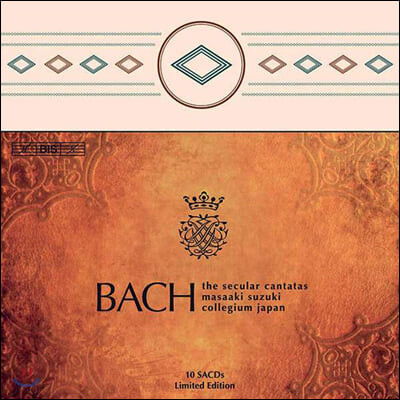 Masaaki Suzuki 바흐: 세속 칸타타 전곡집 - 마사키 스즈키, 바흐 콜레기움 재팬 (Bach: The Complete Secular Cantatas)