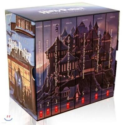 Special Edition Harry Potter Paperback Box Set: 1-7 해리포터 원서 페이퍼백 7권 박스 세트 (미국판 / 15주년 기념 스페셜 에디션)