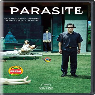 Parasite (기생충) (2020 골든글로브 영화상 수상작)(봉준호 감독 작품)(지역코드1)(지역코드1)(한글무자막)(DVD)