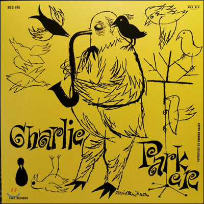Charlie Parker (찰리 파커) - The Magnificent Charlie Parker [투명 옐로우 컬러 LP]