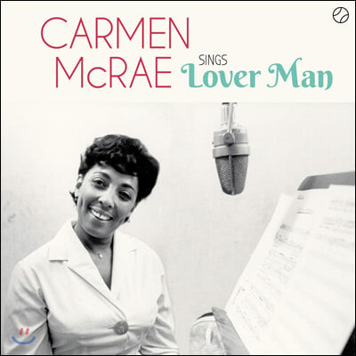 Carmen McRae (카멘 맥레) - Sings Lover Man and Other Billie Holiday Classics [LP]
