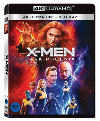 엑스맨: 다크 피닉스 (2Disc 일반판 + 4K UHD 콤보팩) : 블루레이