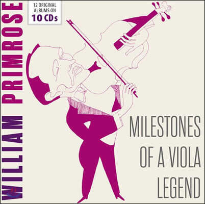 William Primrose 윌리엄 프림로즈 비올라 연주집 (Milestones of a Viola Legend)