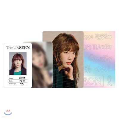 TAEYEON Concert - The UNSEEN ID카드+응원봉데코스티커SET [WHITE]