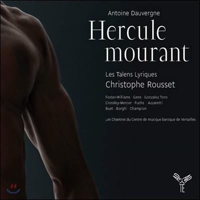 Andrew Foster-Williams 앙투앙 도베르뉴: 빈사의 헤라클레스 (Antoine Dauvergne: Hercule mourant)