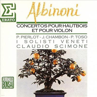 알비노니: 협주곡 (Albinoni: Concertos) (UHQCD)(일본반) - Claudio Scimone
