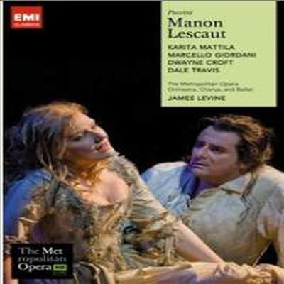 푸치니 : 마농 레스코 (Puccini : Manon Lescaut) (DVD) - Karita Mattila
