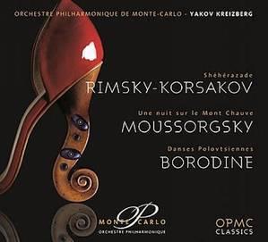 [미개봉] Yakov Kreizberg / 림스키-코르사코프 : 세헤라자데 Op.35, 보로딘 : 폴로베츠인의 춤 & 무소르크스키 : 민둥산의 하룻밤 (Rimsky-Korsakov, Borodin & Mussorgsky : Orchestral Works) (Digipack/수입/미