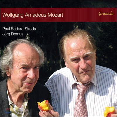 Paul Badura-Skoda / Jorg Demus 모차르트: 두 대의 피아노를 위한 소나타 등 (Mozart: Sonata for 2 Pianos)