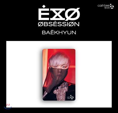 엑소 (EXO) - 캐시비 교통카드 [백현 X-EXO ver.]