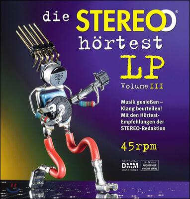인아쿠스틱 레이블 오디오파일용 LP 3집 (Die Stereo Hortest LP Vol. III) [2LP]