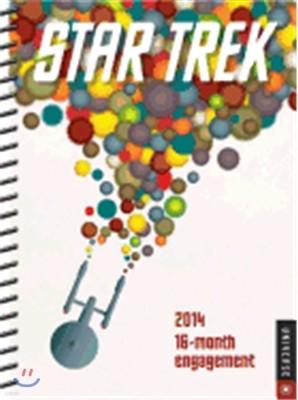 Star Trek 2014 16-Month Engagement Calendar