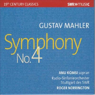말러: 교향곡 4번 (Mahler: Symphony No.4) - Roger Norrington