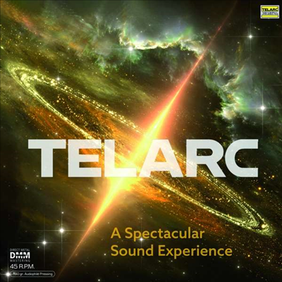 텔락 - 놀라운 음향의 경험 (Telarc - A Spectacular Sound Experience) (DMM)(Gatefold)(45RPM)(180G)(2LP) - Erich Kunzel