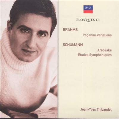 브람스: 파가니니 변주곡, 슈만: 아라베스크, 교향적 연습곡 (Brahms: Paganini Variations, Schumann: Arabeske, Symphonic Etudes) - Jean-Yves Thibaudet