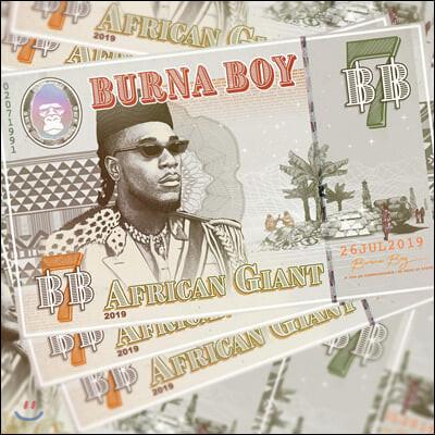 Burna Boy (부르나 보이) - African Giant [2LP]