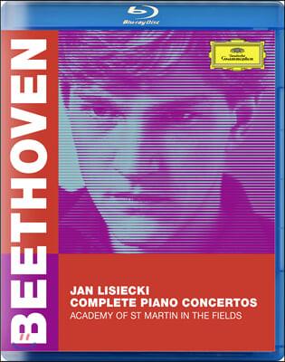 Jan Lisiecki 베토벤: 피아노 협주곡 전곡 (Beethoven: Complete Piano Concertos) [블루레이]