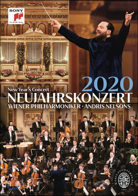 Andris Nelsons 2020 빈 신년음악회 - 안드리스 넬슨스, 빈필 (New Year's Concert 2020) [DVD]