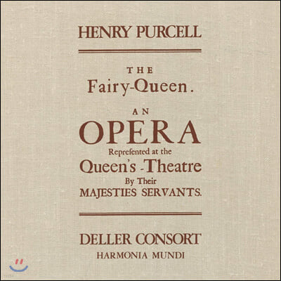 Alfred Deller 퍼셀: 오페라 '요정 여왕' (Purcell: The Fairy Queen) [3LP]