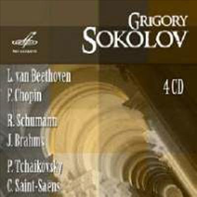 소콜로프 - 소련 레코딩 (Grigory Sokolov plays in USSR Recordings) (4CD) - Grigory Sokolov