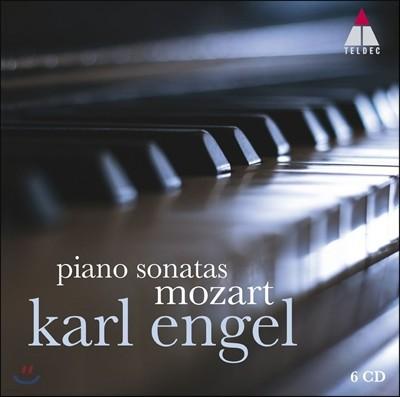 Karl Engel 모차르트: 피아노 소나타 전곡집 (Mozart: Piano Sonatas Nos. 1-18 & works for solo piano) 칼 엥겔