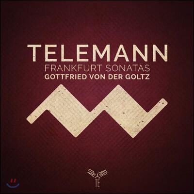 Gottfried von der Goltz 텔레만: 프랑크푸르트 소나타 (Telemann: Frankfurt Violin Sonatas)