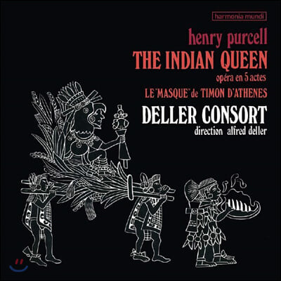 Alfred Deller 퍼셀: 5막 오페라 '인도 여왕' (Purcell: The Indian Queen) [2LP]