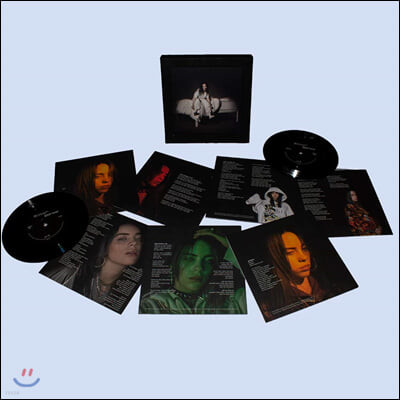 Billie Eilish (빌리 아일리시) - WHEN WE ALL FALL ASLEEP, WHERE DO WE GO? [7인치 7 Vinyl 박스 세트]