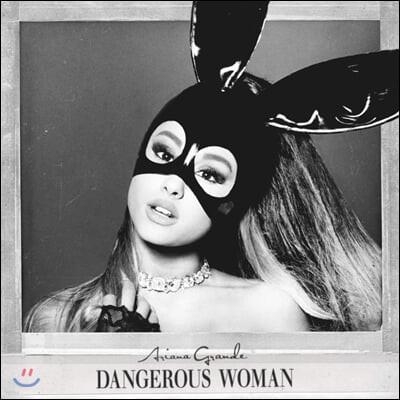 Ariana Grande (아리아나 그란데) - 3집 Dangerous Woman [퍼플 & 블랙 스월 컬러 2LP]