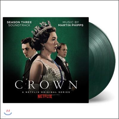 더 크라운 시즌3 넷플릭스 드라마음악 (The Crown: Season 3 Soundtrack From The Netflix Original Series) [그린 마블 컬러 LP]