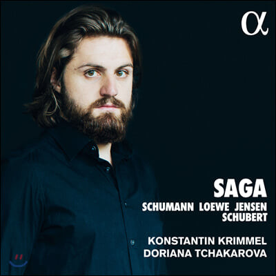 Konstantin Krimmel 슈베르트 / 슈만 / 카를 뢰베 / 아돌프 옌센: 가곡집 (Saga)