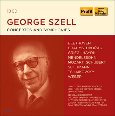 조지 셀 지휘 모음집 (George Szell - Concertos and Symphonies)
