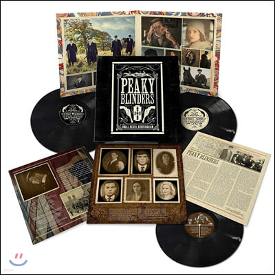 피키 블라인더스 사운드트랙 (Peaky Blinders The Official Soundtrack) [3LP]